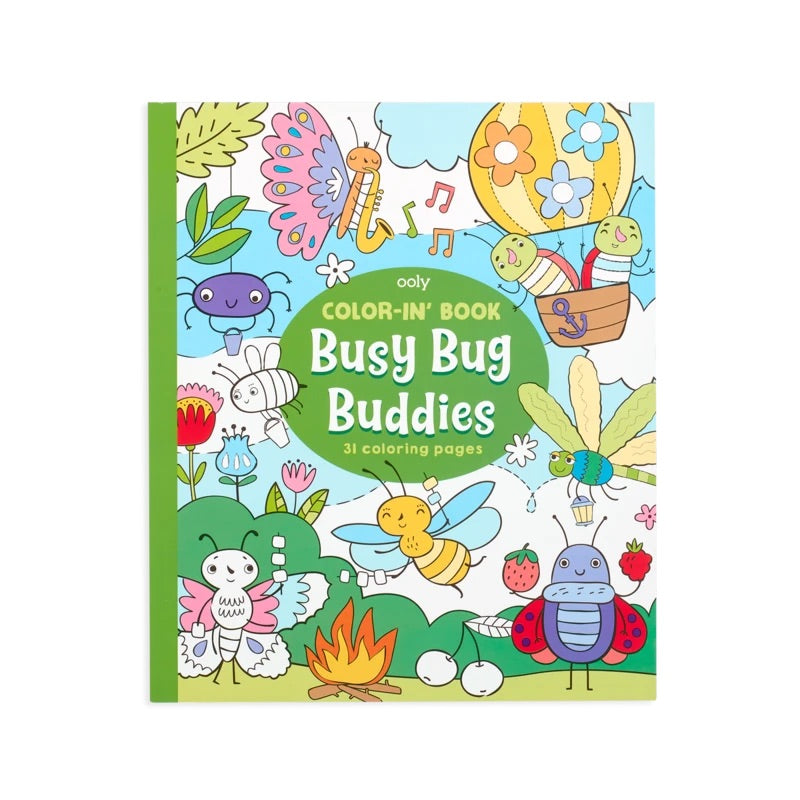 Busy Bug Buddies Coloring Book