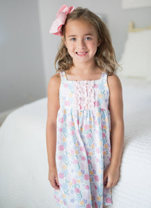 James & Lottie Vintage Floral Lounge Dress