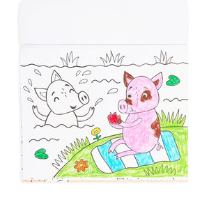 Little Farm Friends Coloring Book