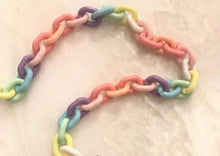 Load image into Gallery viewer, Blair & Avie Designs Rainbow Chain Lanyard