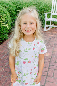 Grace and James Kids Strawberry Dress