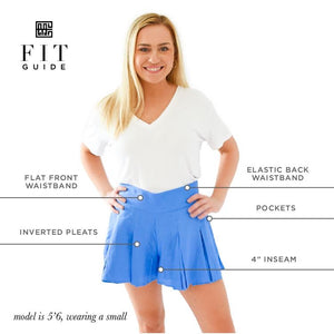 Emily McCarthy Party Shorts- Tulip Twist
