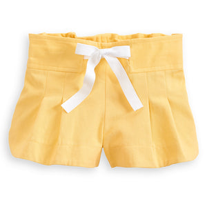 Bella Bliss Whitley Short- yellow twill