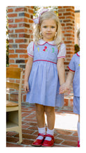 Load image into Gallery viewer, Lullaby Set School Days Darling Dropwaist Jumper