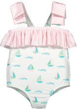 Load image into Gallery viewer, Set Sail Swimsuit