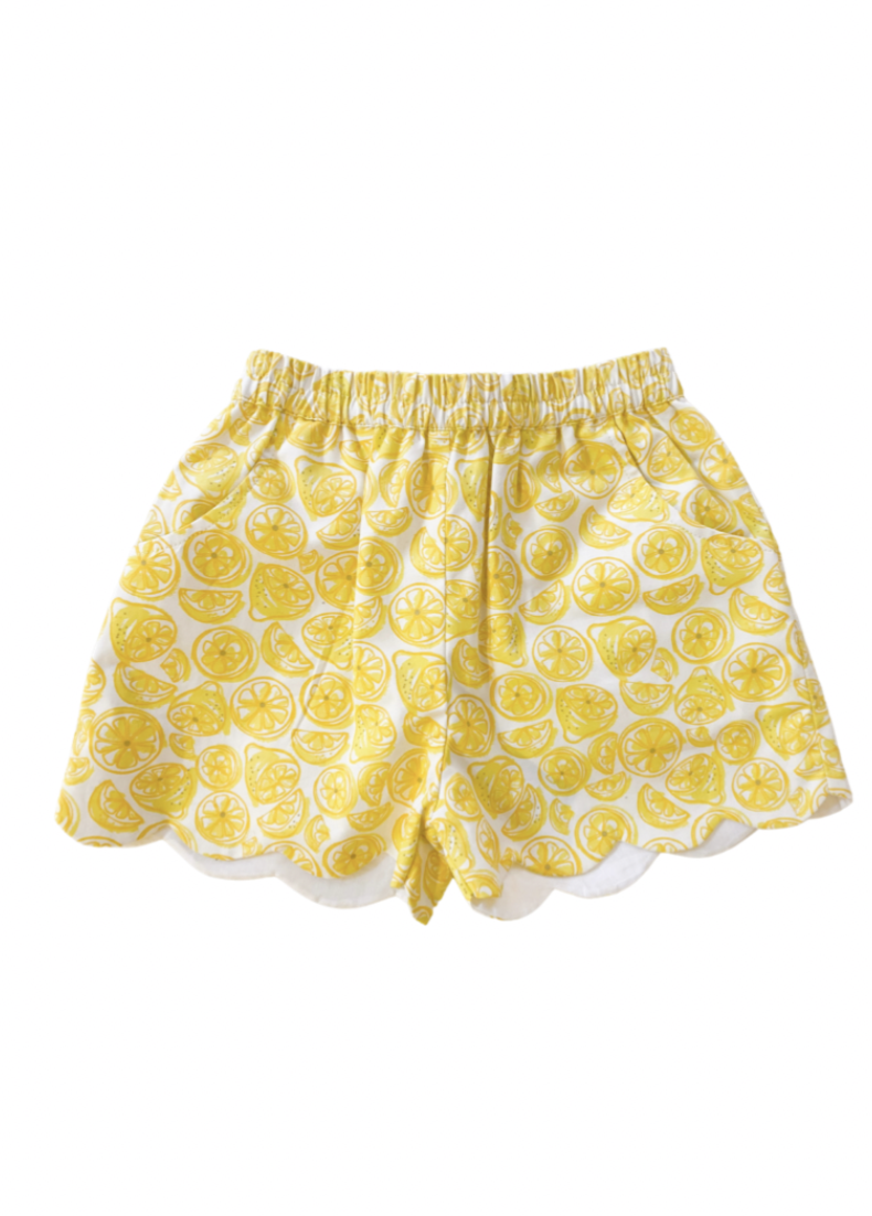 Capri Lemon Shorts