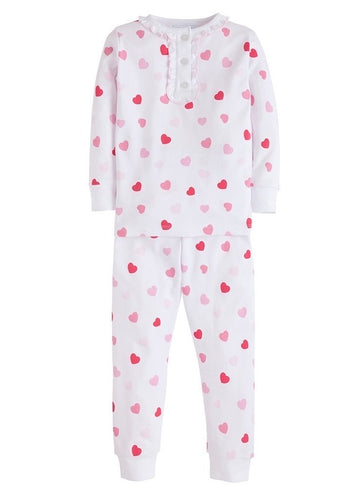 Little English Heart Jammies