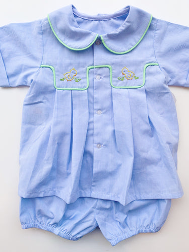 Baby Sen Blue Little Chicks Set