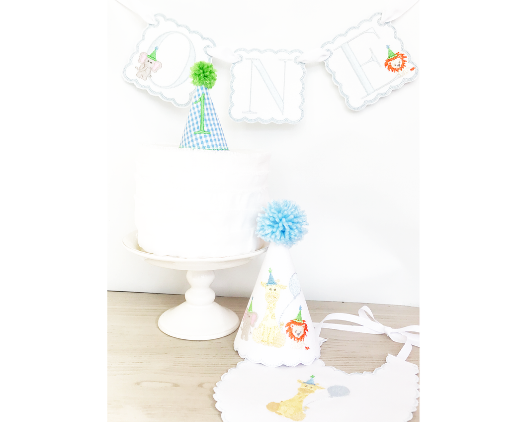 Party Hat Cake Topper