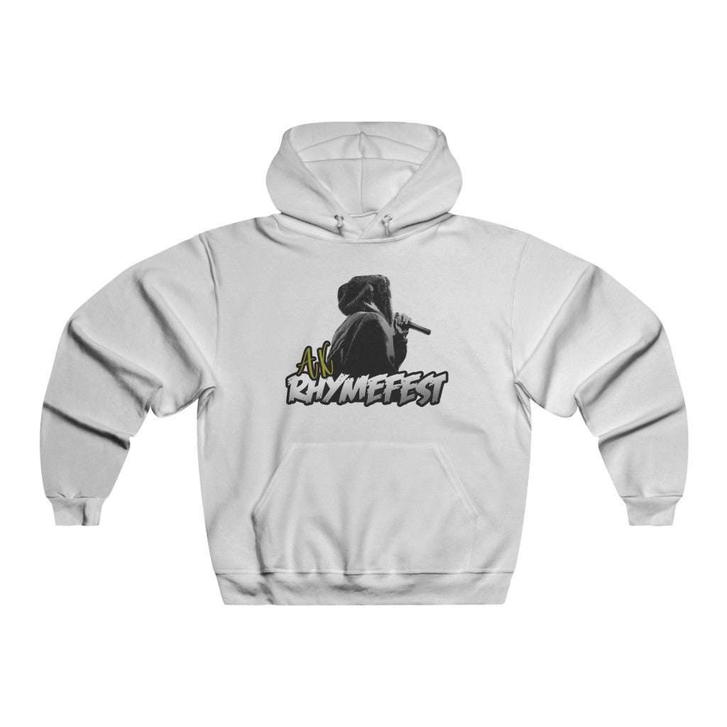 AK RhymeFest - Lightweight Pullover Hooded Sweatshirt