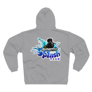 AK RhymeFest - Splash Team - Unisex Hooded Zip Sweatshirt