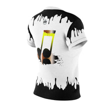 "Load image into Gallery viewer, Women's ""3301 Music Group Drip"" - AOP Cut & Sew Tee"