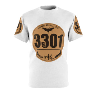 3301 MG Tan-Patch : Unisex AOP Cut & Sew Tee