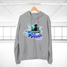 Load image into Gallery viewer, AK RhymeFest - Splash Team - Unisex Hooded Zip Sweatshirt