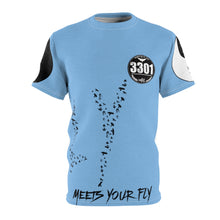 Load image into Gallery viewer, Men's (Sky Blue) When My Fly Meets Your Fly - 3301MG (Matching) - Unisex AOP Cut & Sew Tee
