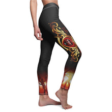 Load image into Gallery viewer, Women's - (Black)I Rock With 3301MG - Casual Leggings