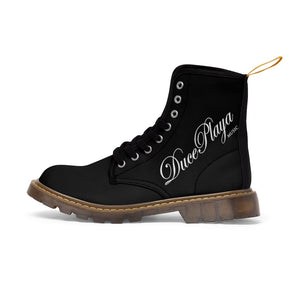 DucePlaya - Men's Canvas Boots