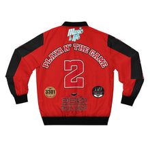 "Load image into Gallery viewer, DucePlaya ""PLAYA N' THE GAME"" - Men's AOP Bomber Jacket"