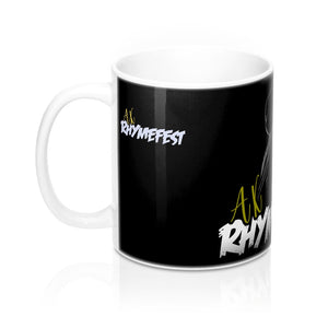 AK RhymeFest - Mic Drop - Mug 11oz