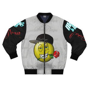 "DucePlaya ""Smile"" - Men's AOP Bomber Jacket"