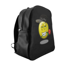 Load image into Gallery viewer, DucePlaya Smile Emoji - School Backpack