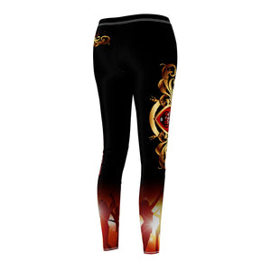Women's - (Black)I Rock With 3301MG - Casual Leggings