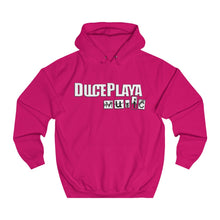 Load image into Gallery viewer, DUCEPLAYA MUSIC : (Color of Your Choice) Unisex College Hoodie
