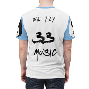 Men's (Sky Blue) When My Fly Meets Your Fly - 3301MG (Matching) - Unisex AOP Cut & Sew Tee