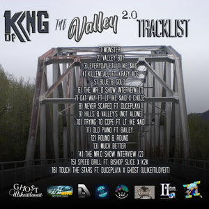 """King of The Valley 2.0"" (The Album) by D The Lyricist"