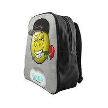 Load image into Gallery viewer, DucePlaya Smile Emoji - School Backpack II