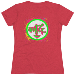 3301 Paint Splash - Women's Triblend Tee