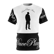 Load image into Gallery viewer, DucePlaya Music - Stamp : Unisex AOP Cut & Sew Tee