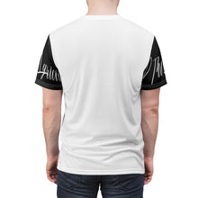 Load image into Gallery viewer, D the Lyricist - Silhouette : Unisex AOP Cut & Sew Tee