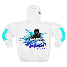 Load image into Gallery viewer, AK RhymeFest - Splash Team - AOP Unisex Zip Hoodie (1)