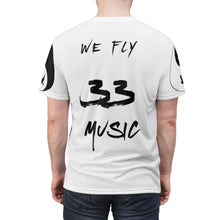 Load image into Gallery viewer, Men's (RED/BLACK) - When My Fly Meets Your Fly - 3301MG (Matching) - Unisex AOP Cut & Sew Tee