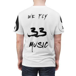 Men's (RED/BLACK) - When My Fly Meets Your Fly - 3301MG (Matching) - Unisex AOP Cut & Sew Tee