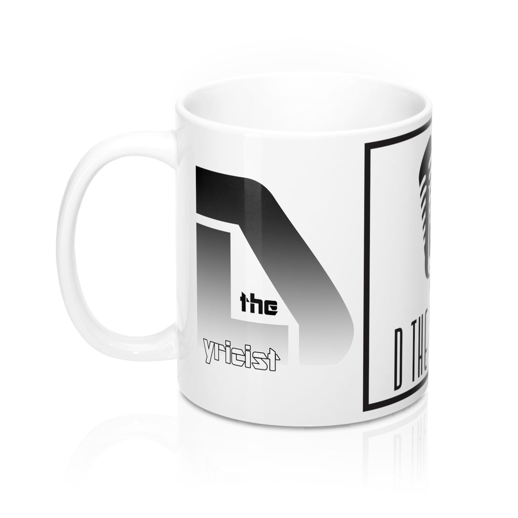 D The Lyricist (White) - Coffee Mug 11oz