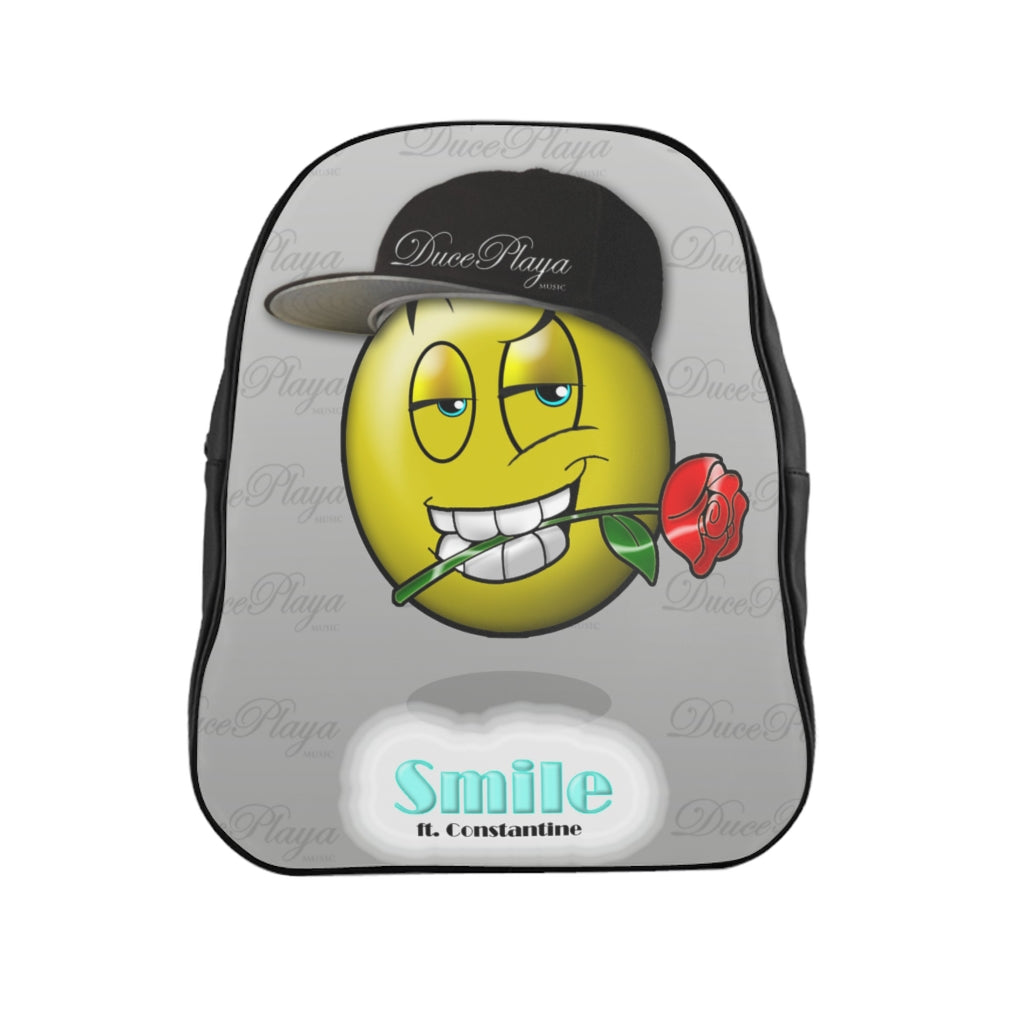 DucePlaya Smile Emoji - School Backpack II