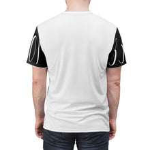 Load image into Gallery viewer, 3301 MG Black-Patch : Unisex AOP Cut & Sew Tee