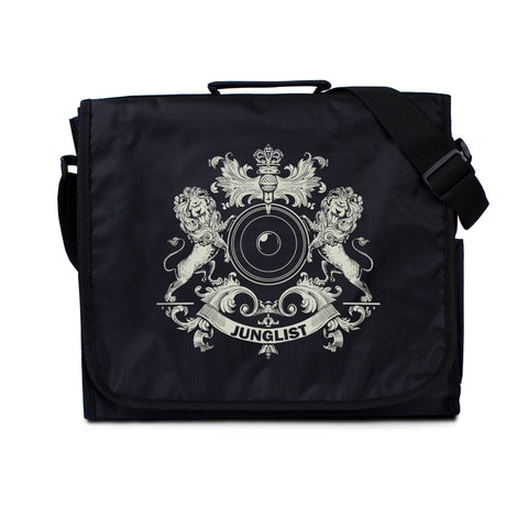 Junglist Coat of Arms Record Bag