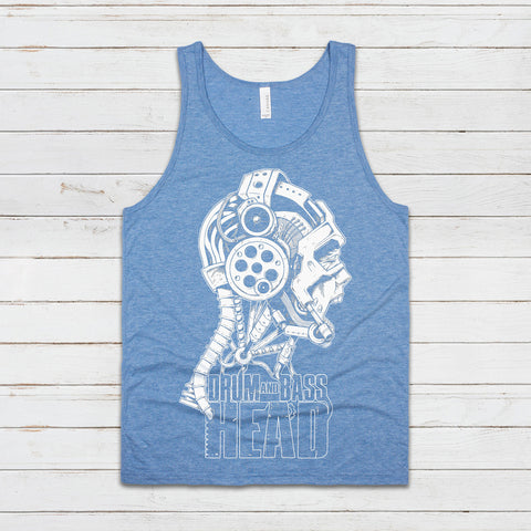Drum and Bass Head Tank Top