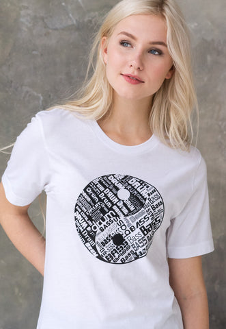Yin Yang Drum and Bass Women's T Shirt