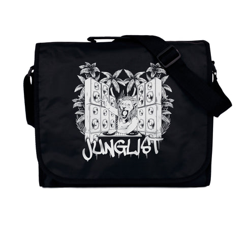 Junglist Lion DJ Record Bag