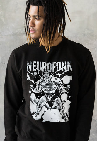 Neurofunk Destruction Robot Sweatshirt Jumper