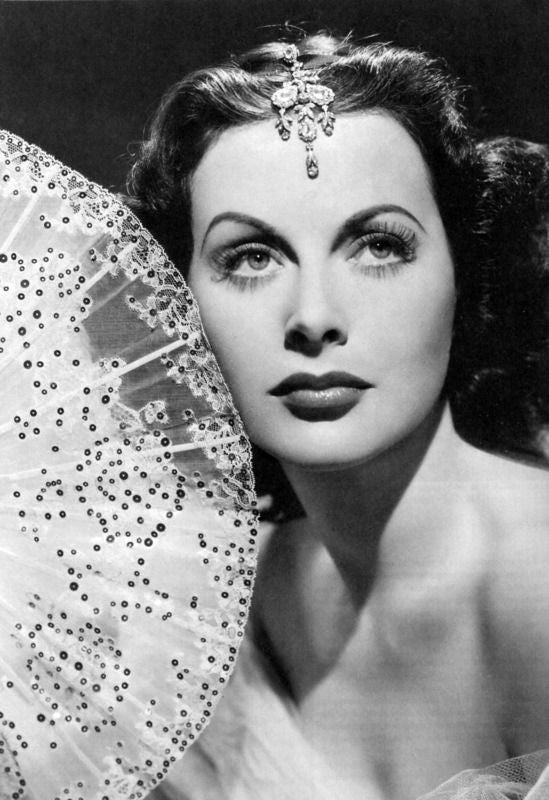 hedy lamarr, actress, cinema, diva, science, technologies