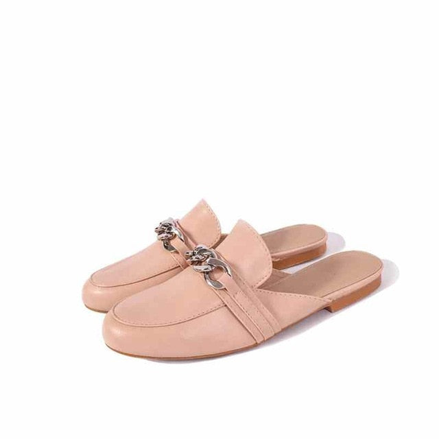 habazoo - Summer Women Slippers Plus Size 36-41 Fashion Chian Decoration Flat Outside Ladies Casual Mules Slides Shoes - Habazoo -
