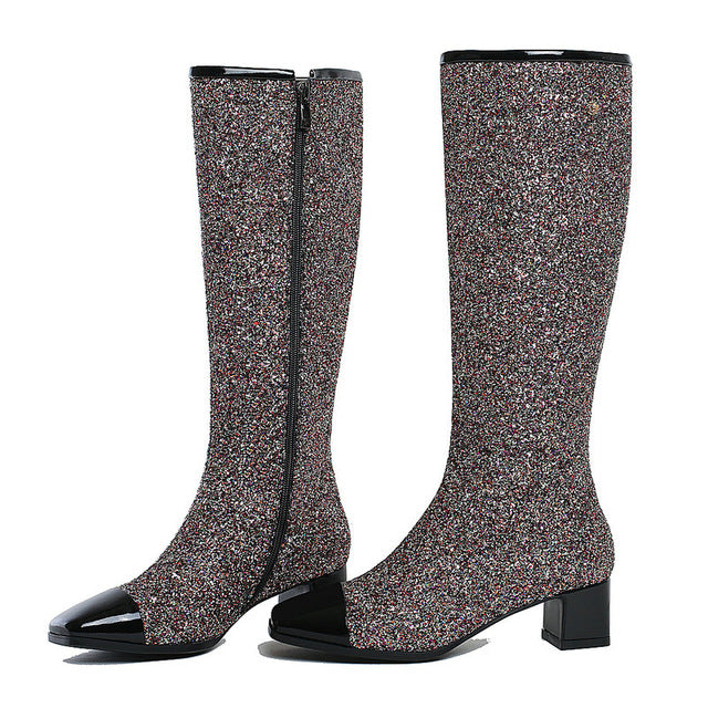 Prova Fashion Knee High Boots