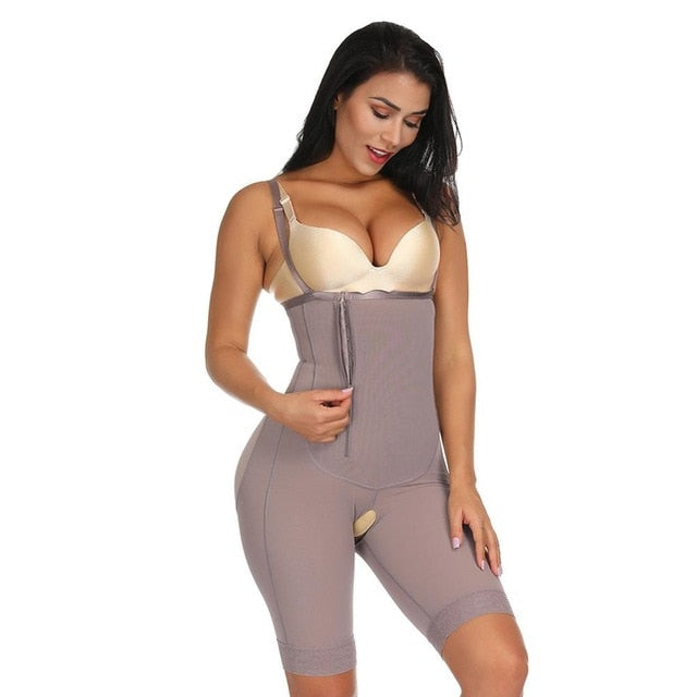 habazoo - Full Body Shaper Modeling Belt Waist Trainer Butt Lifter Thigh Reducer Panties Tummy Control Push Up Shapewear Corset Bodysuit - Habazoo -