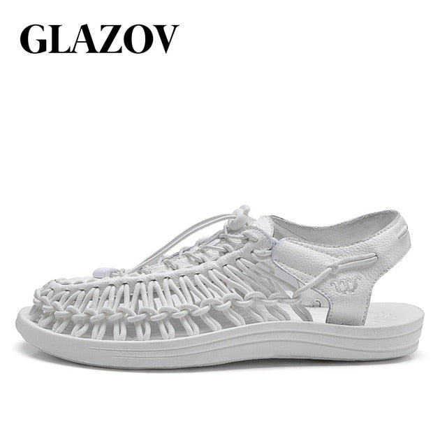 habazoo - Summer Sandals Men Shoes Quality Comfortable Men Sandals Fashion Design Casual Men Sandals Shoes Size 37-45 - Habazoo -