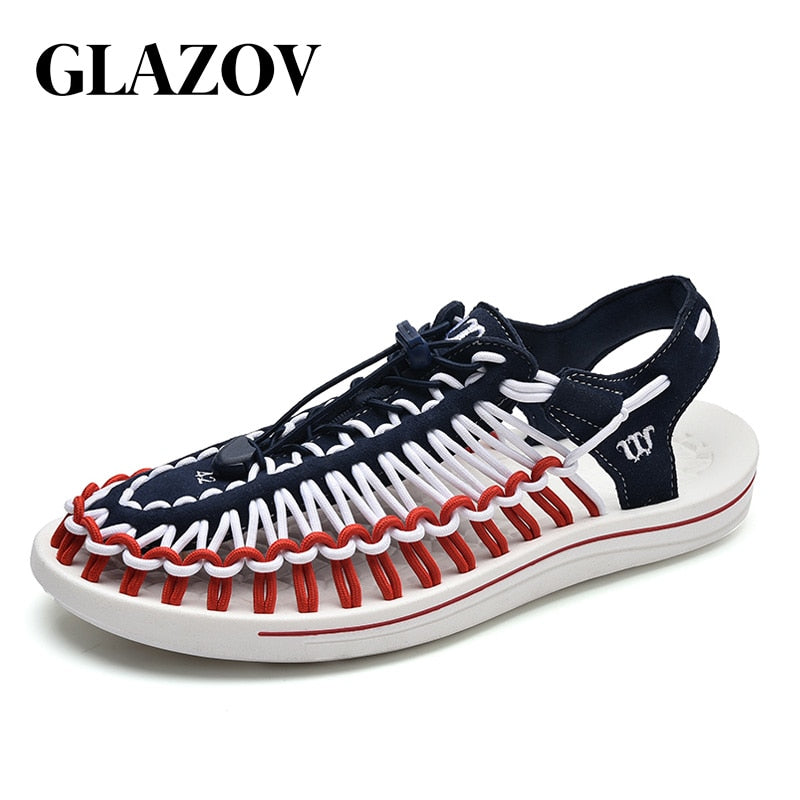 Summer Sandals Men Shoes Quality Comfortable Men Sandals Fashion Design Casual Men Sandals Shoes Size 37-45 - Habazoo